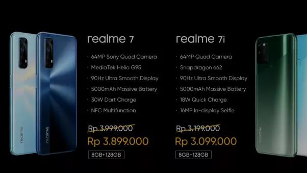 معرفی گوشی هوشمند Realme 7i